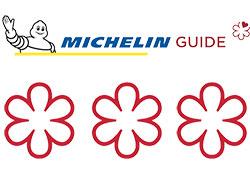 Ресторан чешского премьера на Лазурном берегу потерял звезду Мишлен.  Логотип гида Мишлен и три звезды.  22 января 2019