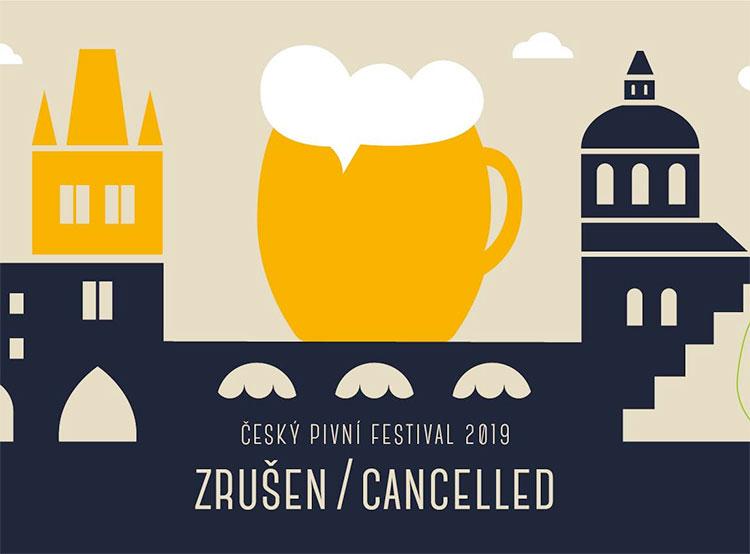 Организаторы сообщили об отмене Чешского пивного фестиваля — 2019. Грандиозный пивной фестиваль в Праге отменен. Фрагмент изображения со страницы мероприятия в facebook   23 января 2019 года