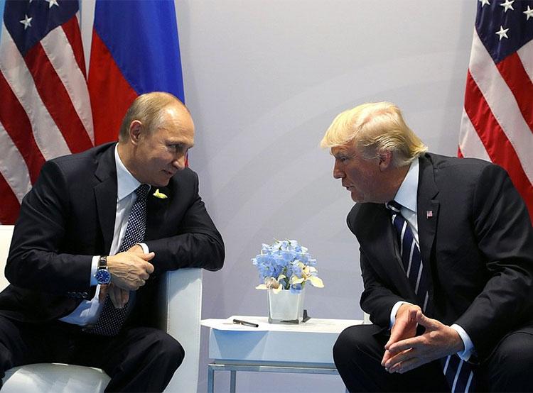 Из политиков международного уровня жители Чехии больше всего доверяют Земану. Владимиру Путину и Дональду Трампу чехи не доверяют в равной мере. Фото kremlin.ru  11 февраля 2019 года