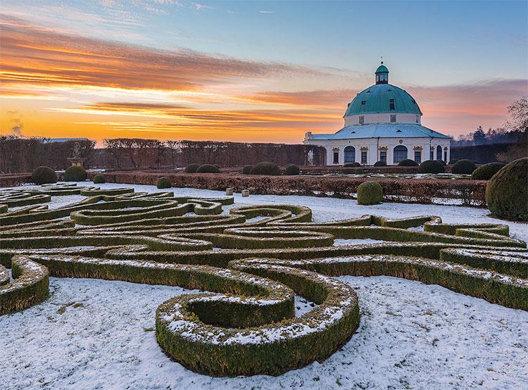 Названы самые популярные в 2018 году чешские замки и крепости. Ротонда замка Кромержиж  Фото: Národní památkový ústav  13 февраля 2019