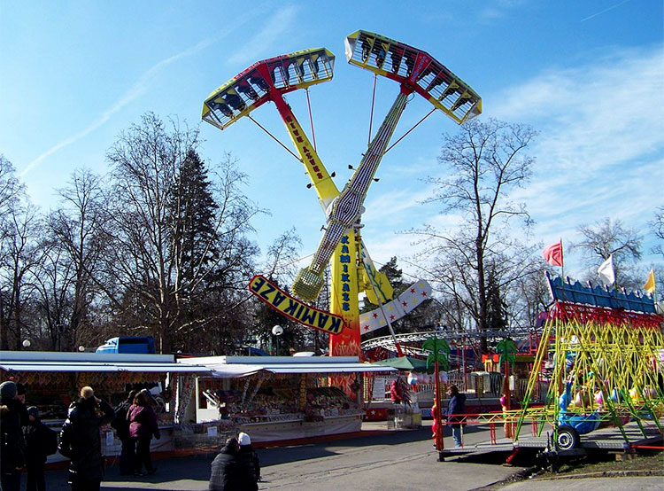 В Праге открылась одна из самых древних и продолжительных весенних ярмарок. Матейская ярмарка. Фото ŠJů, Wikimedia Commons [CC BY-SA 3.0 (https://creativecommons.org/licenses/by-sa/3.0)]  23 февраля 2019 года