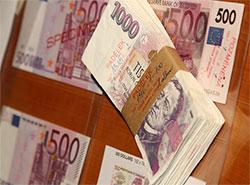 Национальный банк Чехии назвал самую подделываемую купюру. Примеры поддельных купюр  Фото: Česká národní banka  8 марта 2019