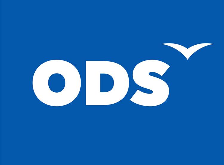 Сына бывшего президента Чехии Вацлава Клауса хотят наказать за слова о евреях. Логотип партии ODS  13 марта 2019 года