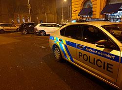 Иностранке, сбившей в Праге на Новый год двух женщин, предъявят обвинения.  Место задержания.  Фото: Policie ČR.  19 марта 2019
