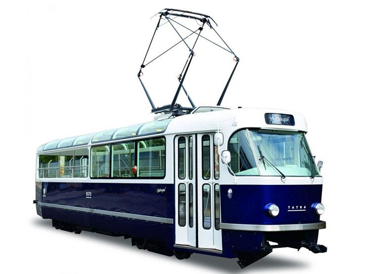 Пражский дизайнерский трамвай T3 Coupé удостоен престижной международной премии. Трамвай T3 Coupé. Фото dpp.cz  30 марта 2019 года