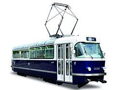 Пражский дизайнерский трамвай T3 Coupé удостоен престижной международной премии.  Трамвай T3 Coupé. Фото dpp.cz.  30 марта 2019