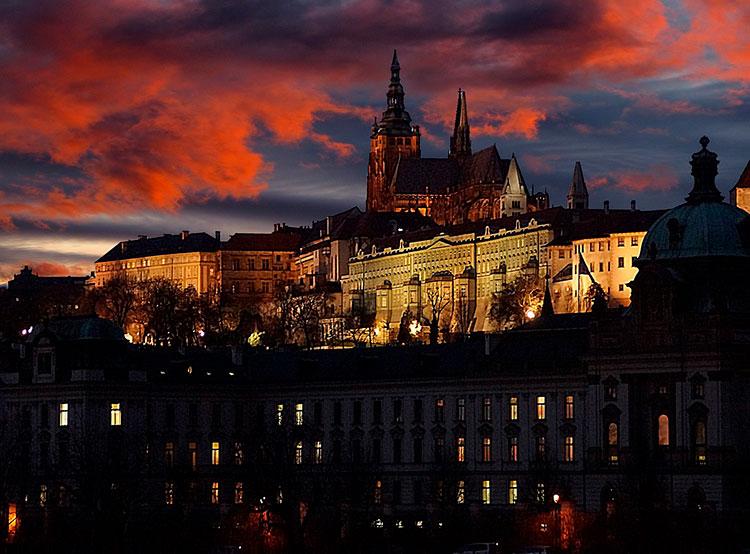 У Пражского Града появился аккаунт в инстаграме. Пражский Град. Фото Klaus Dieter vom Wangenheim from Pixabay  12 мая 2019