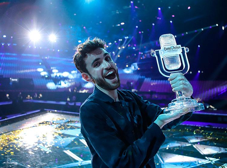 «Евровидение-2019» выиграли Нидерланды, Чехия — 11-я. Победитель «Евровидения-2019» Дункан Лоуренс. Фото Thomas Hanses  19 мая 2019