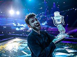 «Евровидение-2019» выиграли Нидерланды, Чехия — 11-я.  Победитель «Евровидения-2019» Дункан Лоуренс. Фото Thomas Hanses.  19 мая 2019