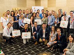 Чешские компании наградили за поддержку равноправия представителей ЛГБТ.  Лауреаты  LGBT Friendly Employer 2019. Фото facebook.com/PrideBusinessForum.  22 июня 2019