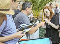 В Карловы Вары на кинофестиваль приехала актриса Джулианна Мур. Джулианна Мур в Карловых Варах. Фото Film Servis Festival Karlovy Vary  27 июня 2019