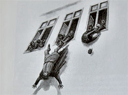 Прага отметит 600-летие дефенестрации выбрасыванием «чиновников» из окон . Первая пражская дефенестрация в 1419 году  29 июля 2019