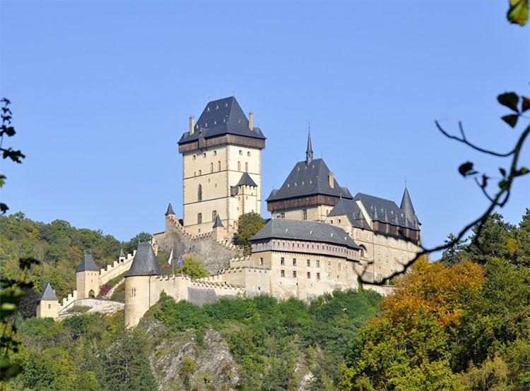 Реконструкция Карлштейна может начаться уже в октябре. Замок Карлштейн  Фото: Národní památkový ústav  24 августа 2019 года