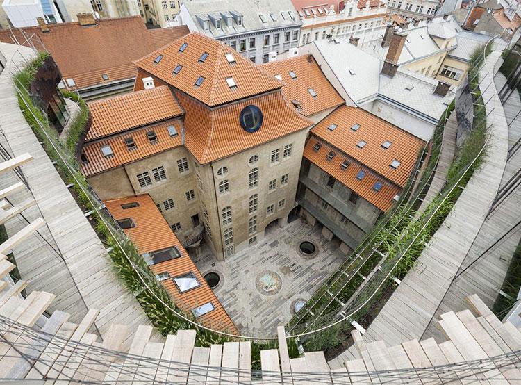 Чешским архитектором года признан автор пражских Palac Špork и Palac DRN. Palac DRN  в Праге. Фото facebook.com/camppraha  10 сентября 2019