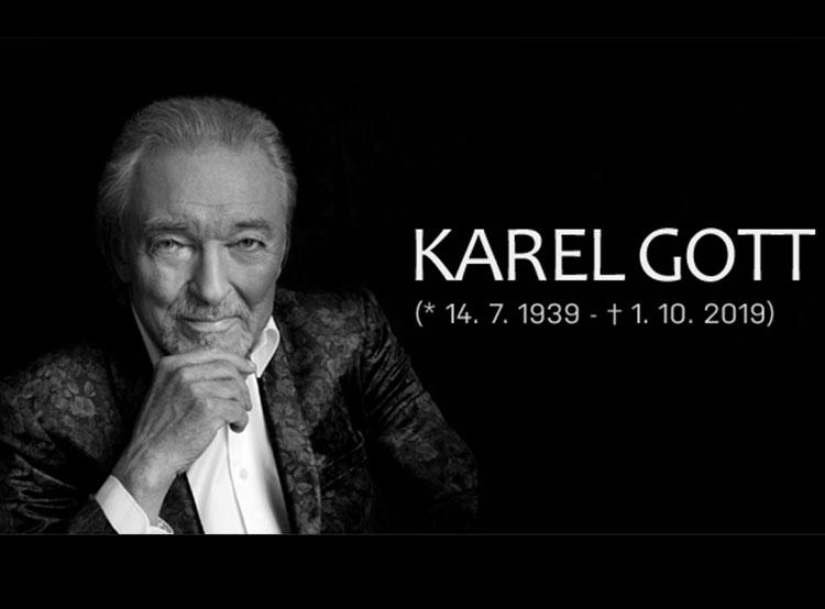 Прощание с Карелом Готтом состоится 11 октября. Карел Готт умер 1 октября 2019 года. Фото https://www.facebook.com/gottkarel  5 октября 2019