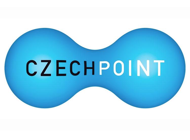 Служба Czech Point не будет работать три дня.  Логотип службы Czech Point.  15 октября 2019
